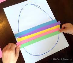 little family fun easy easter egg craft for kids