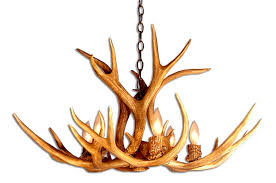 How To Make Deer Antler Chandelier Deer Horn Chandelier The Aquaria