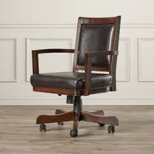 le bureau banquier chaises de bureau en bois type chaise de banquier wayfair ca