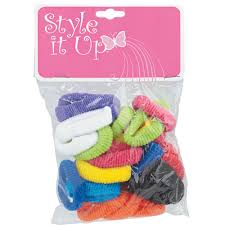ponytail holders style it up small terry ponytail holders