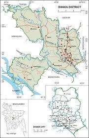 Map Of Bangladesh Dhaka District Upazila Wise Mouza Maps U0026 Information