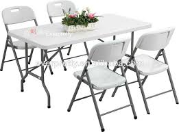 Folding Table And Chair Sets Portable Folding Table And Chair Set Plastic Dining Table And