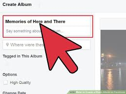 Photo Album Fo How To Create A Photo Album On Facebook 11 Steps With Pictures
