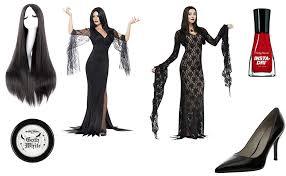 Morticia Addams Dress Morticia Addams Costume Diy Guides For Cosplay U0026 Halloween