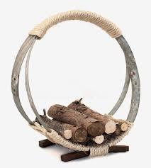 Barrel Home Decor Wine Barrel Hoop Firewood Rack Home Decor U0026 Lighting O U0027floinn