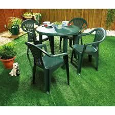 Chair In Garden Green Plastic Garden Table For Home Use Backyard Pinterest