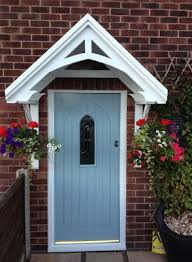 Front Porch Awning Give An Attractive Look To Your Home Entrance With Door Canopy
