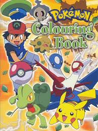pokemon paradijs kleurplaten kleurboek coloring book