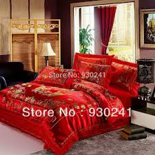 Queen Size Red Comforter Sets Compare Prices On Red Comforter Set King Size Online Shopping Buy