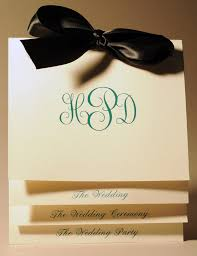 wedding program booklet programs