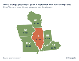 average gas price illinois has higher gas prices than national average all