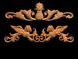 wooden scrolls for cabinets heartwood carving decorative wood accents and details