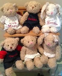 engraved teddy bears u name it bears