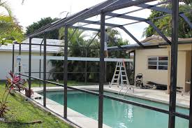 Screened In Pergola by Pool Enclosure Repair Screen Enclosure Rescreening Palm Beach