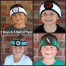 football headbands sports themed sweatbands yarns crocheted headbands and patterns