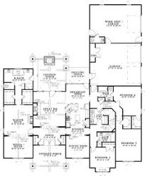 Floor Plan 4 Bedroom Bungalow Plan Sc 2700 960 4 Or 5 Bedroom 3 Bath Home With A 3 Car