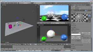 how to create reflections in blender 2 6 lynda com tutorial