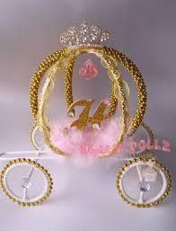 cinderella carriage cake topper centerpiece decoration item