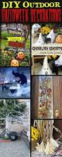 outdoor homemade halloween decorations