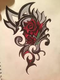 Tribal Tattoos With Roses - tribal danielhuscroft com