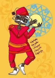 haji firooz doll santa lol as santa packs up the snow haji firooz brings