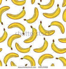 seamless pattern banana vector stock vector 352938155 shutterstock