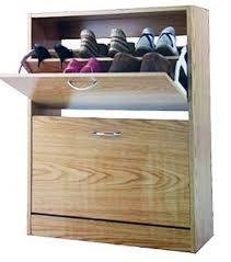 storage organizer luxury wooden 2 tier chaussures shoe cabinet by