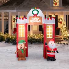 Blow Up Holiday Decorations 10 U00276