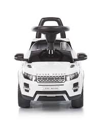 land rover white chipolino ride on car land rover evoque white mum n me baby shop