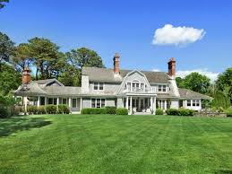wow house east hampton manor home with gambrel style library