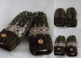sweater mittens recycled sweater mittens our children s earth