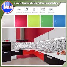 fiber kitchen pantry cupboard high gloss colored self assemble