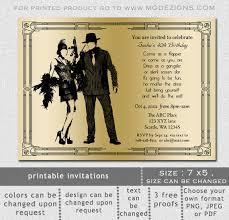 printable gold u0026 black art deco retro roaring 20 u0027s birthday party