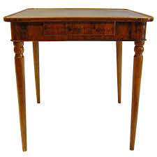 folding card table dimensions antique walnut french card table with leather top circa 1830 for