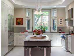Beige Walls White Trim by Kitchen White Cabinets Custom Hood Glass Front Cabinets