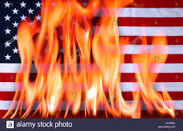 Burning Red Flag Burning American Flag Stock Photos U0026 Burning American Flag Stock