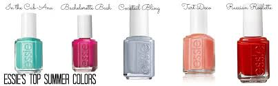 five favorite summer nail colors essie style to the heights
