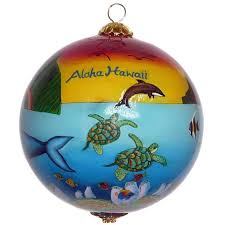 new hawaiian ornaments by design