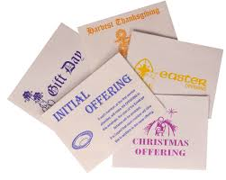 Thanksgiving Offering Envelopes Special Occasion Envelopes Church Collection Envelopes Lockie Ltd