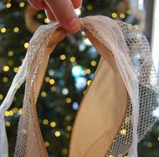 how to add ribbon to a christmas tree a pop of pretty blog