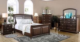 litchville sleigh bedroom set furniture of america furniture cart