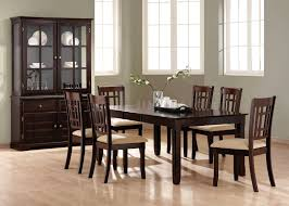 Cappuccino Dining Room Furniture Deep Cappuccino Finish Casual Dining Room Table W Options