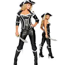 cool costumes cool pu leather pirate black costumes for women