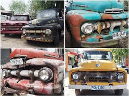 Classic Ford Truck Information - amazing old cars on the roads in uruguay u2013 everywhere dare2go