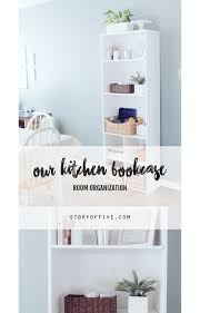 kitchen bookshelves u2013 room organization