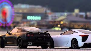 lexus lfa wallpaper 1920x1080 lexus lfa vs nissan gtr nfs most wanted youtube