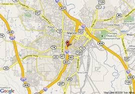 mercer map map of garden inn macon mercer macon