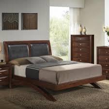 furnituremaxx emily 111 merlot wood arch leg bed group queen bed