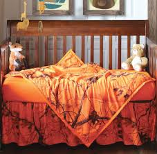 Camouflage Crib Bedding Sets Orange Blaze Realtree Ap Camo Crib Set 3 Pcs Camo Crib Bedding