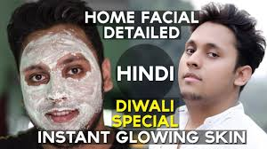 Facial Meme - men s facial at home get a glowing face detailed step by step in